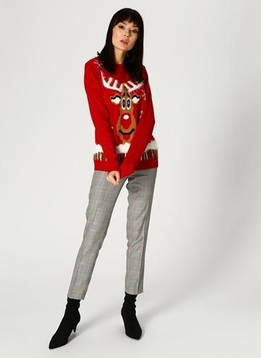 Vero Moda Kazak Kırmızı